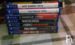 Selling Playstation 4 (PS4) Games! Please Read