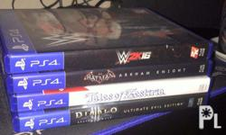 Selling PS4 Games 4000 Bundled Can be bought