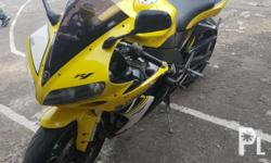 Yamaha r1 model 2005,with or and cr,boc payment,updated
