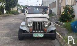 Semi-Stainless owner type jeep, hard top and sides,