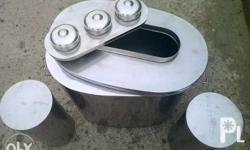 Set of coolers, its pure stainless. hindi basta