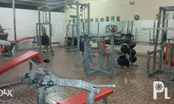 Hi! Set of Gym Equipments for start up business. Only