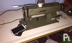 FOR SALE! 2pcs JUKI Sewing Machine almost brand new