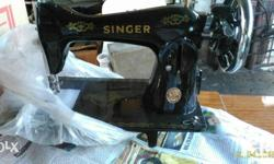 Original singer ordinary machine complete