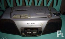 Sharp defective stereo lahat may problem: tape and