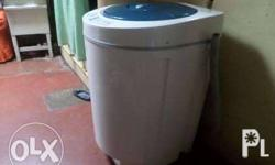 Fully automatic washing machine sabon, banlaw, dryer