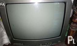 Sharp television color Gray with damage slightly