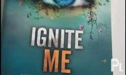 Books 1-3 of the Shatter me book series and the novella