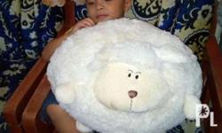 "Stuff toy sheep So soft nice to hug 50"" round"