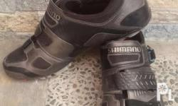 For Sale Used Shimano Mountain Bike Cleats Shoes Size