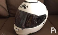 Used once Bought the wrong model Shoei Gtair2 Even