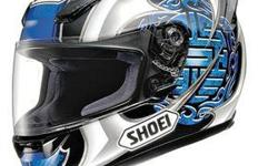 Deskripsiyon This is a genuine Shoei RF1000 in blue