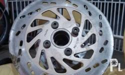 Shogun R 115 front hub with stock disc plate Php 799