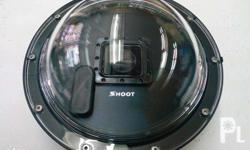 shoot dome for gopro here 3 and gopro hero 4 includes: