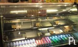 Asiacold Show case chiller, good for cake shop, coffee