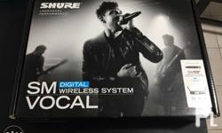Brandnew shure gld4 wireless microphone Complete with