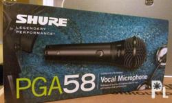 The PGA58 delivers excellent sound for lead and backup