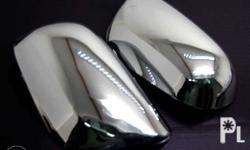 Side Mirror Chrome Cover for Toyota Vios 2008-2012 -