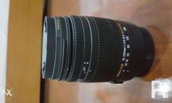 Sigma 18-250mm f/3.5-6.3 dc os hsm IF lens for Canon