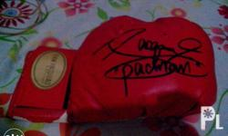 rush! for sale signed glove by Manny Pacquiao right