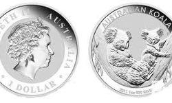 I am selling 2011 silver Koalas 1 troy ounce . These