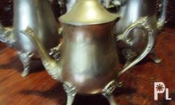 im selling my grandmother antique TEA POT SET SILVER
