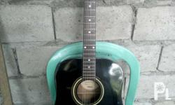 Silvertone pro series acoustic,black.. u.s. made po..