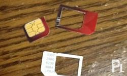 Deskripsiyon Aim card cutting for iphone and ipad 3g.