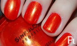 SINFUL COLORS PROFESSIONAL NAIL POLISH *Helps prevent