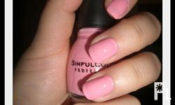 SINFUL COLORS NAIL POLISH *Helps prevent chipping,
