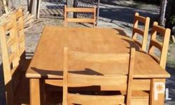 Six seaters dinning table,made of hard and matured
