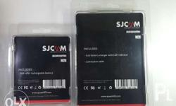 Sjcam M20 Battery Package With Dual Charger