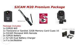 Package Includes 1x SJCAM M20 Wifi Action Camera 1x