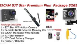 Package Includes: 1x SJ7 Star Action Camera 1x Sandisk