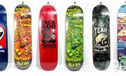 For sale: Skateboard decks Price: 1600 deck only