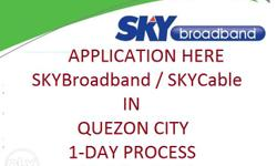 WE PROCESS SKY CABLE + BROADBAND AND BAYANTEL DSL and