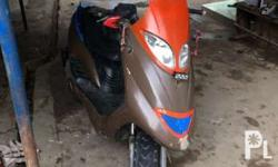 150cc scooter with orig or cr last registered 2014...