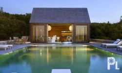 �Pay attention to building codes. Generally, a pool