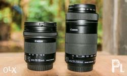 Canon EF-S 10-18mm ultra wide angle lens - 11,000 Canon