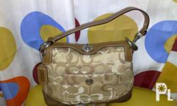 Deskripsiyon slightly used coach bag 4x lng nagamit in