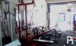 list of gym equipments: incline bench flat/decline