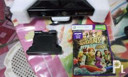slightly used xbox kinect good as new condition used