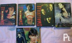 Smallville complete season 1, 2, 3, 4, and 6 complete