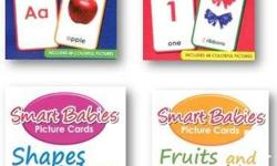 DETAILS: 24 FLASH CARDS (Nice quality thick material)