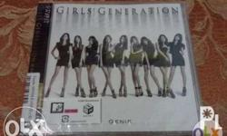 Brand New and Factory Sealed SNSD Genie Album [Limited