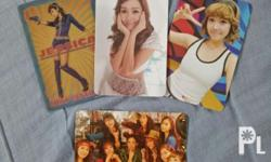 SNSD Jessica Photocards and Mouse Pad Special