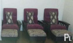 Sofa for home n spa 1 seater with foot stool 3500 per