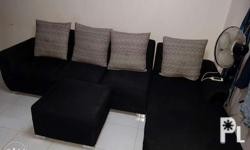 For sale Sofa set (4 pcs) L type With free pillows 4