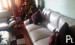 Helping a Friend FS~ Sofa Set Leathered condition~ no