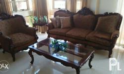Victorian sofa set for sale 25,000.00 Includes: 1pc - 3